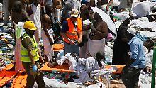 Neue Zählung: Zahl der Panik-Opfer nahe Mekka viel höher