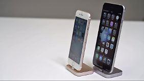 Man sieht es ihnen nicht an, aber die neuen iPhones sind dicker und schwerer als ihre Vorgänger.