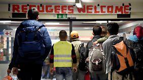 670 Euro pro Flüchtling im Monat: Das sind die Ergebnisse des Flüchtlingsgipfels