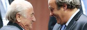 Einspruch abgelehnt: Blatter und Platini bleiben weiter gesperrt
