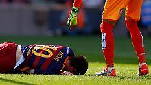 + Fußball, News, Gerüchte +: Messi fällt bis zu acht Wochen aus