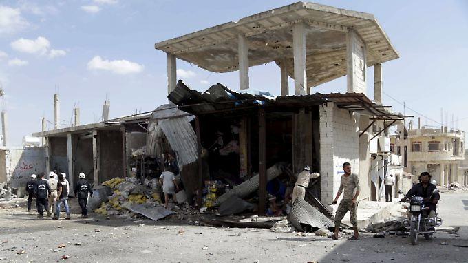Während in Syrien der Krieg wie jeden Tag weitergeht, kommt im fernen New York vielleicht etwas Bewegung in die diplomatischen Friedensbemühungen.