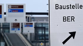 """Die """"Baustelle BER"""" wird es noch eine ganze Weile geben."""
