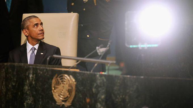 """Für Barack Obama ist Assad ein """"Tyrann""""."""