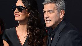 Promi-News des Tages: George und Amal Clooney nerven neue Nachbarn