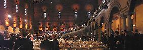 Das Nobelbankett: Wer verstehen will, welche Speisen serviert werden, muss sich mit den französischen Bezeichnungen auskennen.