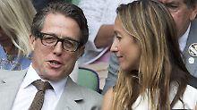 Anna Eberstein, Tv-Produzentin aus Schweden, und Hugh Grant erwarten Nachwuchs.