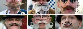 Mit Liebe frisiert zur WM: Wer hat den schönsten Bart?