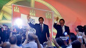 Pochen auf Reformen in Athen: Portugal will nach Wahl an Sparprogramm festhalten