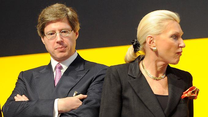 Der Gesellschafter der Schaeffler Gruppe: Georg F. W. Schaeffler und Maria-Elisabeth Schaeffler-Thumann.