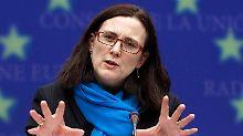 """""""Dieser Skandal betrifft viele Bereiche"""": Cecilia Malmström ärgert sich über VW (Archivbild)."""