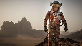 """Kinotipp """"Der Marsianer"""": Matt Damon strandet auf dem roten Planeten"""