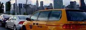 Frühstück mit Blick auf Manhattan: New Yorker vermietet Schlaftaxi an Touristen
