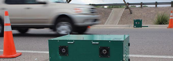 Schadstoffmessung am Straßenrand: Kommen Abgas-Blitzer auch in Deutschland?