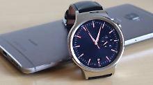 Edel-Uhr mit inneren Schwächen: Huawei Watch ist fast perfekt