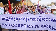 Mode und Schuhe für den Westen: Kambodscha hebt den Mindestlohn
