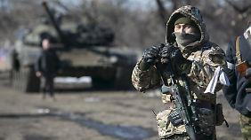 In der Ukraine ist Feierabend, in Syrien gibt es noch was zu kämpfen.