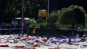 Noch ist nicht klar, wer hinter dem Anschlag steckt.