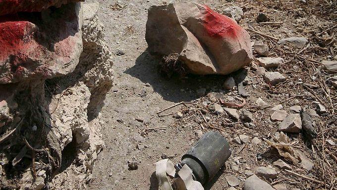 Seit einem internationalen Abkommen von 2008 ist die Verwendung von Streubomben eigentlich stark zurückgegangen.
