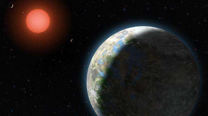 """""""Gliese 581g"""" könnte bewohnbar sein: Erdähnlicher Planet im All entdeckt"""