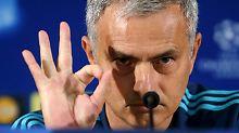 """+ Fußball, News, Gerüchte +: Mourinho coacht """"auf Bewährung"""""""