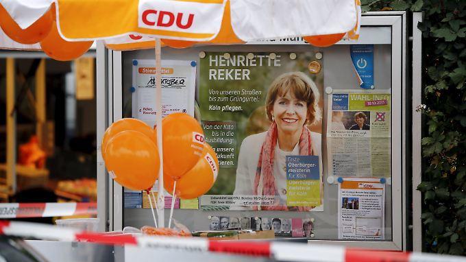 Messerattacke in Köln: 44-Jähriger verletzt OB-Kandidatin schwer