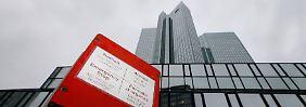 Fehler bei der Deutschen Bank: Nachwuchskraft überweist Milliarden