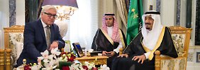 Gräben zwischen Teheran und Riad: Steinmeier ist nach Nahost-Reise ernüchtert