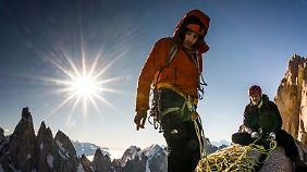 Alex Honnold (l.) ist derzeit der unangefochtene König der Kletterszene.