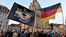 Europaweite Demos und Gegendemos: Tillich fordert Ermittlungen gegen Pegida