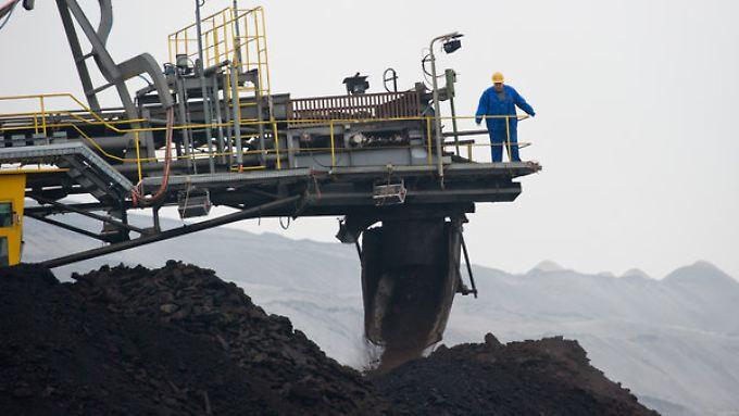 Auch im brandenburgischen Jänschwalde fördert Vattenfall Kohle.