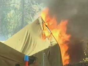 """Erste Live-Bilder vom Unglücksort: Die Lage vor Ort sei """"äußerst angespannt"""", berichten Augenzeugen."""