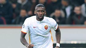 Antonio Rüdiger kommt immer mehr an bei der Roma.