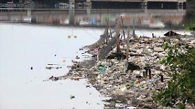 Auch Olympioniken gefährdet: Rio de Janeiros Favela-Bewohner versinken im Abwasser