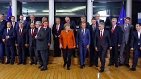 Aktionsplan in Brüssel beschlossen: In der EU wird weiter über die Flüchtlingsfrage gezankt