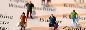 Gedämpftes Konsumklima: Verbraucher fürchten Anstieg der Arbeitslosigkeit