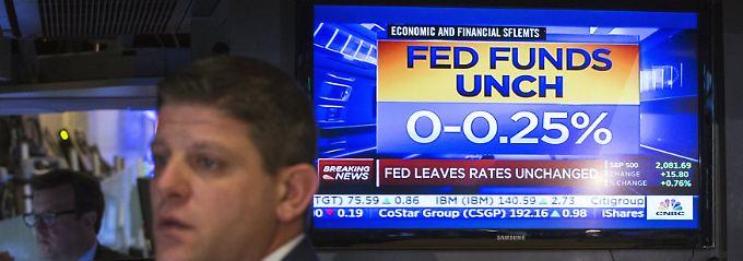 """Und so erfahren es die Händler an der New Yorker Wall Street: """"UNCH"""" steht für """"unchanged"""" (deutsch: unverändert)."""