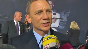 """Deutschlandpremiere von """"Spectre"""": Daniel Craig spricht über die James-Bond-Nachfolge"""