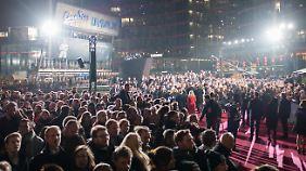 Am Potsdamer Platz war buchstäblich die Hölle los.