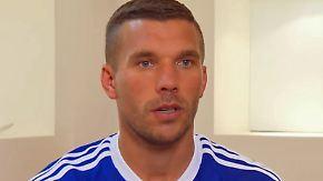 """""""War für mich ein guter Schritt"""": Lukas Podolski endgültig am Bosporus angekommen"""