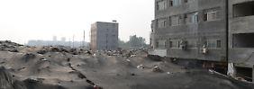 Feldzug in den Wohlstand: China reißt eine Stadt ein