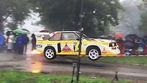 Automobil-Legenden in San Marino: Rallye-Stars treffen auf Helden der Vergangenheit