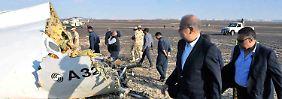 Absturz über dem Sinai: Ägypter sichern Flugdatenschreiber