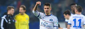 + Fußball, Transfers, Gerüchte +: Ilicevic verlässt HSV zum Saisonende