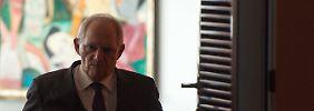 Wolfgang Schäuble muss 2016 mit weniger Geld auskommen als erwartet.