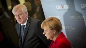 Feilen an Formulierungen: Union ringt im Transitzonen-Streit um Kompromiss