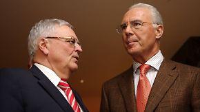 Gerüchte um Schuldschein: Ex-DFB-Chef Zwanziger geht auf Beckenbauer los