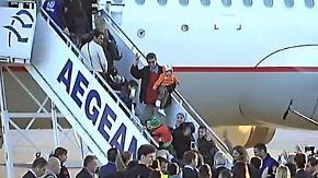 Verteilung innerhalb der EU startet: Sechs Flüchtlingsfamilien fliegen nach Luxemburg