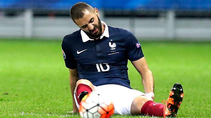 Ohne ihn: Karim Benzema.