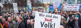 AfD-Demo in Berlin: Wer sind denn hier die Nazis?